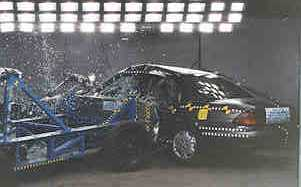1997 Chevrolet Lumina 4-DR. after side crash test