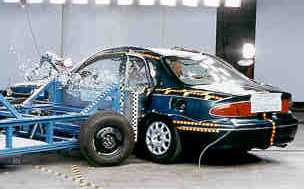 NCAP 1998 Buick Century side crash test photo