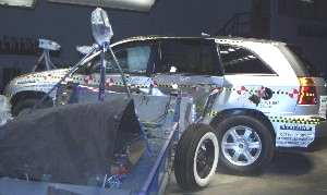 NCAP 2004 Chrysler Pacifica side crash test photo