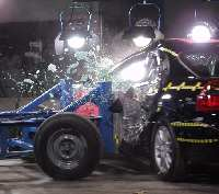 NCAP 2004 Chrysler 300M side crash test photo