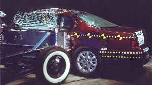 NCAP 2004 Chevrolet Monte Carlo side crash test photo