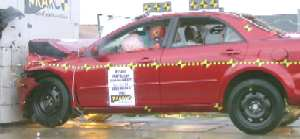 NCAP 2007 Mazda MAZDA6 front crash test photo