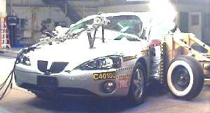 NCAP 2007 Pontiac Grand Prix side crash test photo