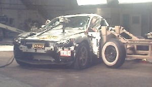NCAP 2007 Mazda RX-8 side crash test photo