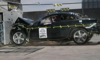NCAP 2007 Mazda RX-8 front crash test photo