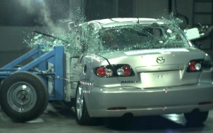 NCAP 2007 Mazda MAZDA6 side crash test photo