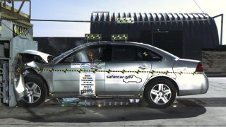 NCAP 2008 Chevrolet Impala front crash test photo