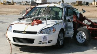 NCAP 2008 Chevrolet Impala side crash test photo