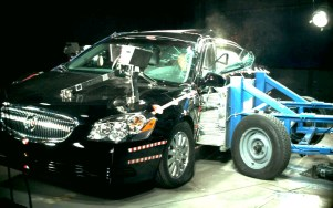 NCAP 2008 Buick Lucerne side crash test photo
