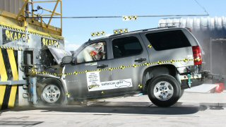 NCAP 2008 Chevrolet Tahoe front crash test photo