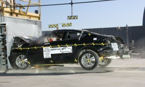 NCAP 2008 Honda Accord front crash test photo