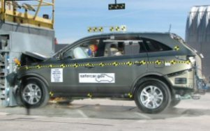 NCAP 2009 Hyundai Veracruz front crash test photo
