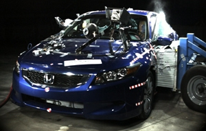 NCAP 2009 Honda Accord side crash test photo