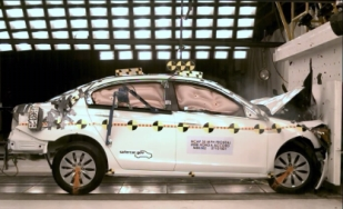 NCAP 2009 Honda Accord front crash test photo