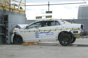 NCAP 2009 Chevrolet Malibu front crash test photo