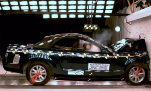 NCAP 2009 Ford Mustang front crash test photo
