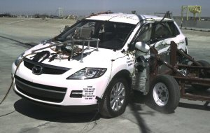 NCAP 2010 Mazda CX-9 side crash test photo