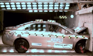 NCAP 2010 Toyota Camry front crash test photo