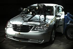 NCAP 2010 Chrysler Sebring side crash test photo