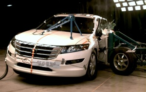 2010 Honda Accord Crosstour 4-DR. w/SAB after side crash test