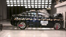 NCAP 2011 Hyundai Sonata front crash test photo
