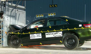 2011 Toyota Camry 4 DR FWD Later Release after frontal crash test