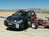 NCAP 2011 Subaru Outback side crash test photo