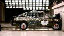 NCAP 2011 Honda Accord front crash test photo