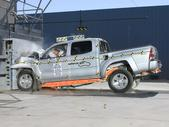 2011 Toyota Tacoma PU/CC RWD after frontal crash test