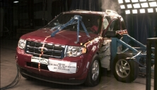 NCAP 2011 Ford Escape side crash test photo