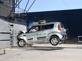 2011 Kia Soul SUV FWD after frontal crash test