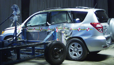 NCAP 2011 Toyota RAV4 side crash test photo