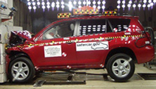 NCAP 2011 Toyota RAV4 front crash test photo