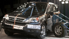 NCAP 2011 Honda CR-V side crash test photo
