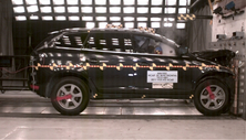 2011 Volvo XC60 SUV AWD after frontal crash test