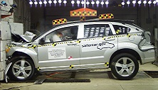 NCAP 2011 Dodge Caliber front crash test photo