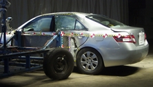 2011 Toyota Camry 4 DR FWD Later Release after side crash test