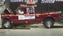 NCAP 2011 Ford Ranger front crash test photo