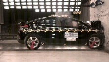 NCAP 2011 Chevrolet Volt front crash test photo