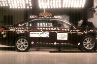 NCAP 2012 Ford Taurus front crash test photo