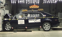 NCAP 2012 Chevrolet Malibu front crash test photo