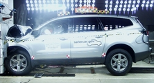 NCAP 2012 Chevrolet Traverse front crash test photo