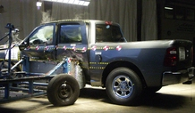NCAP 2012 Ram 1500 side crash test photo
