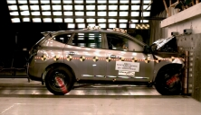 NCAP 2012 Nissan Rogue front crash test photo