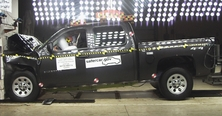 NCAP 2012 Chevrolet Silverado 1500 front crash test photo