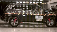 2012 Acura MDX SUV 4WD after frontal crash test