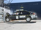 NCAP 2012 Nissan Altima front crash test photo