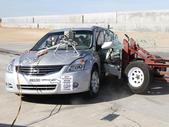 NCAP 2012 Nissan Altima side crash test photo