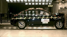 2012 Chevrolet Cruze 4 DR FWD after frontal crash test