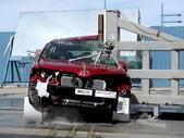 NCAP 2012 Toyota Venza side pole crash test photo